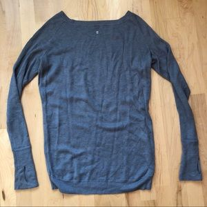 Lululemon Chai Time Pullover - Reversible - Sz 8